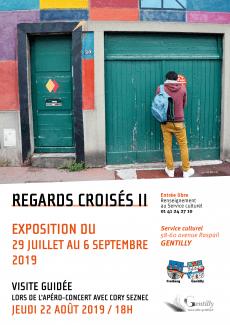Affiche exposition Regards croisés II